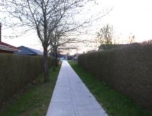 Ny sti mellem Tingskov allé og Østerby allé