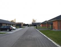 De nye huse ved Østerby allé